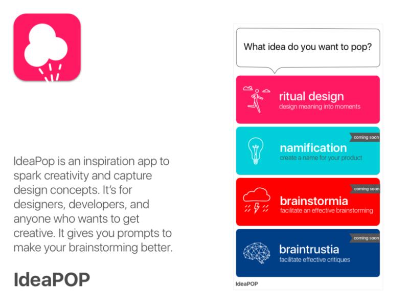 Ideapop app